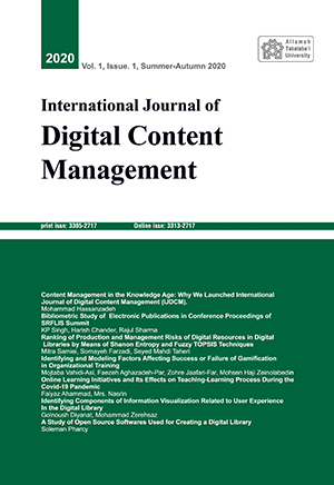 International Journal of Digital Content Management